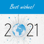 Illusration of the news: Happy new year and best wishes!