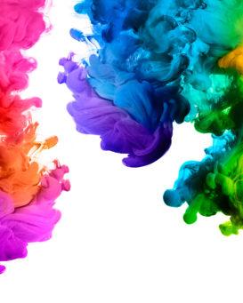 Liquide de couleurs