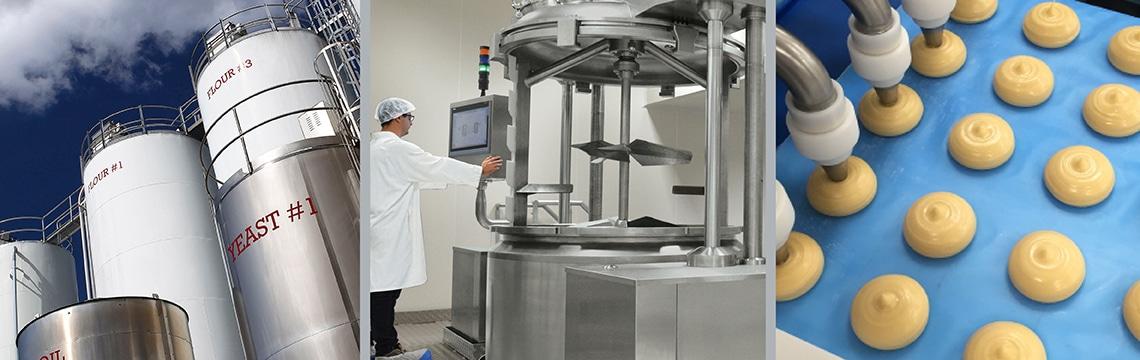 Activités de Linxis Group : gestion des ingrédients, mélange, transfert et dosage