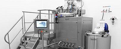 Production Vacuum Homogenizers