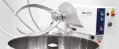 Fork mixers (with fixed or removable bowl)