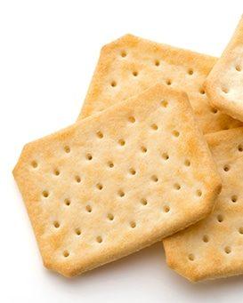 Produit fini - crackers