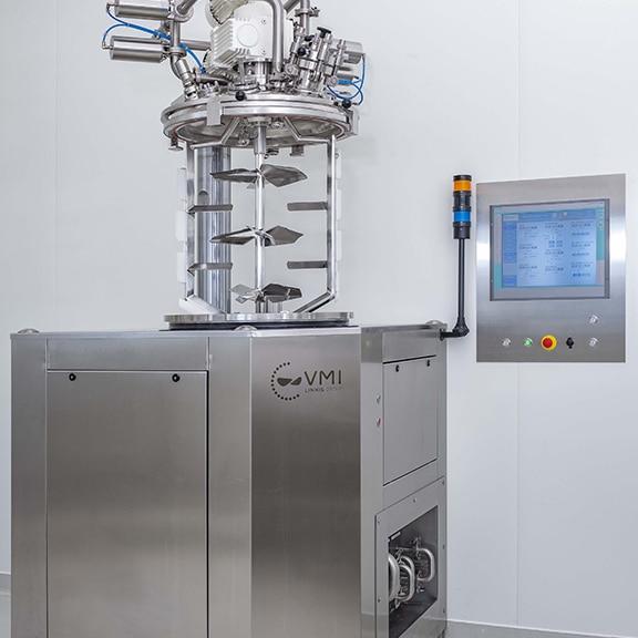 Homogénéiseur de production Trimix Process Development Center