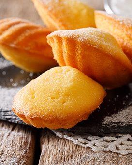 Produit fini - madeleines