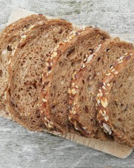 Boule pain aux céréales