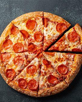 Produit fini - pizza