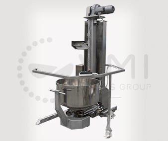 Elément de transfert - élévateur cuve SPI A - verrouillage hydraulique