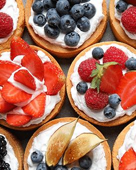 Produit fini - tartelettes fruits