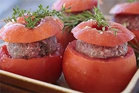 Tomates farcies, plats traiteurs et restaurateurs