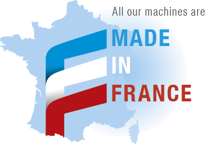 All our machines are made in France