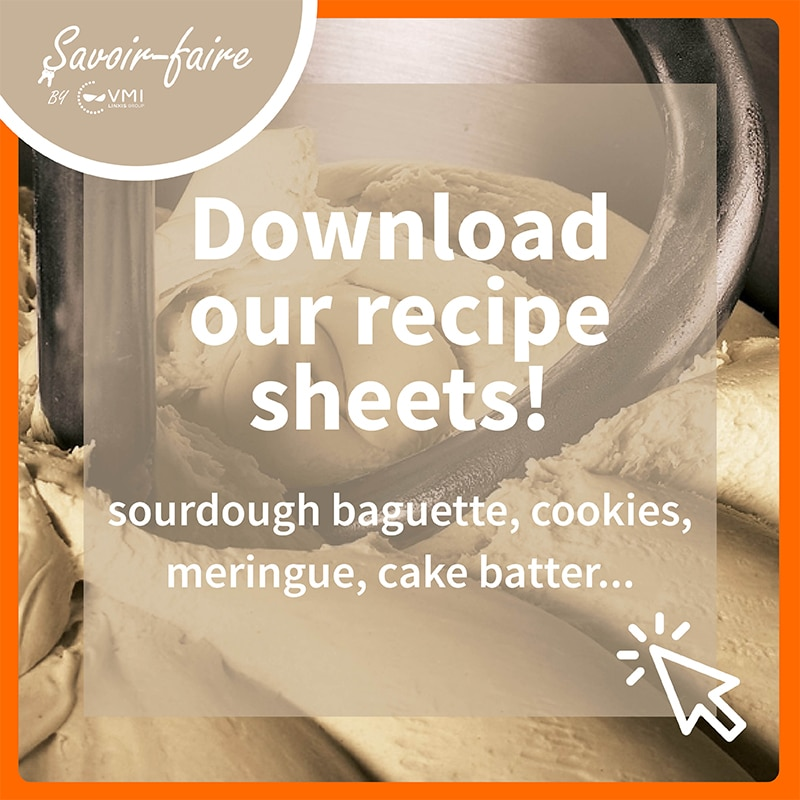 Download our recipe sheets